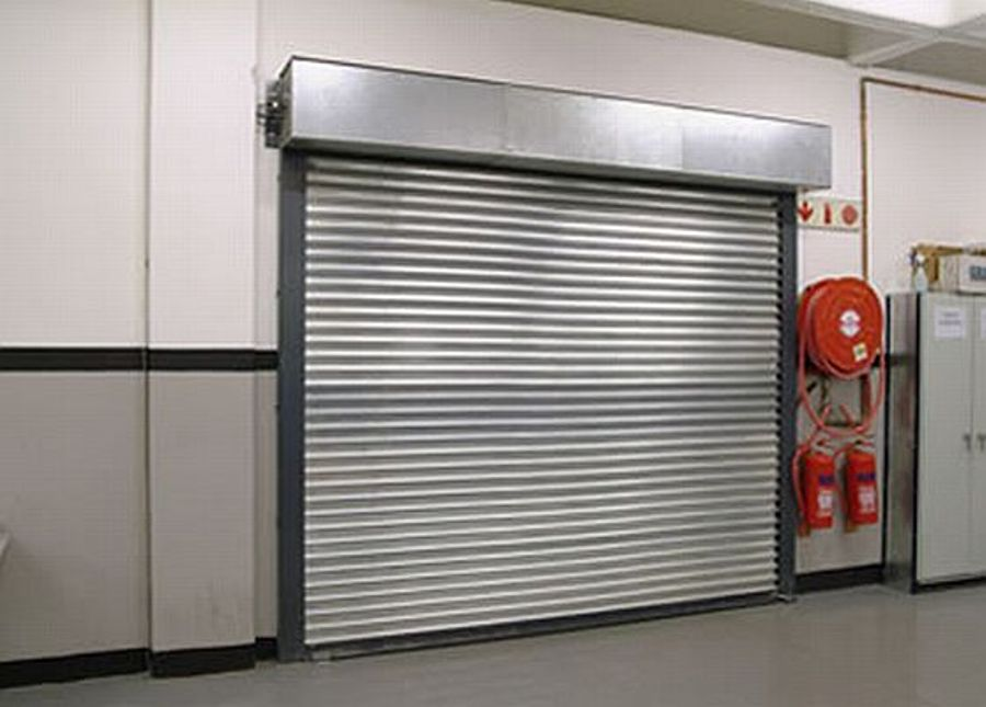 Fire rated rolling shutter uae arabian gulf door - The rolling shutter home in bohemia ...