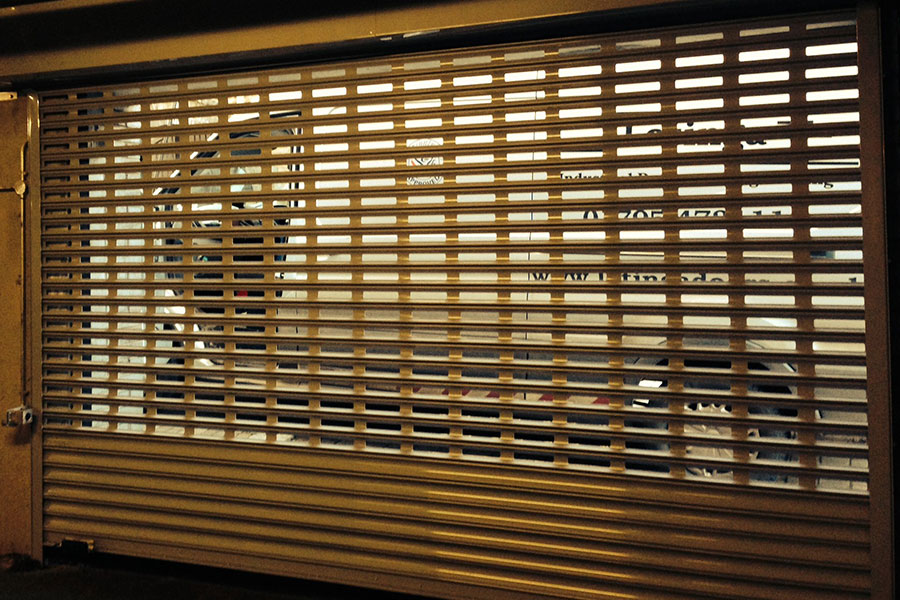 Perforated Roller Shutters Dubai Arabian Gulf Door